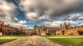 Cambridge. Royalty Free Stock Images