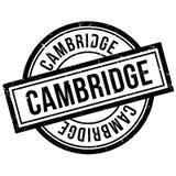 Cambridge rubber stamp Stock Image