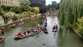 Cambridge rzeka Obrazy Royalty Free
