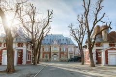Cambridge School of Bucharest Stock Photo