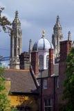 Cambridge - sueño de chapiteles Imagenes de archivo