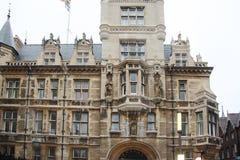 Cambridge szkoła wyższa Zdjęcia Royalty Free