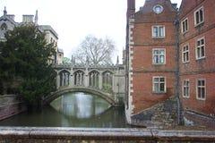 cambridge szkoła wyższa królewiątka uniwersyteccy Fotografia Royalty Free