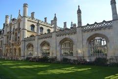 cambridge szkoła wyższa królewiątko s Zdjęcie Stock
