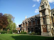 Cambridge Town university Stock Photography