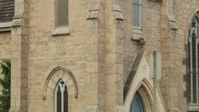 Cambridge Trinity Church. Worship, church school & nursery stock footage