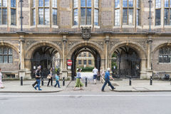CAMBRIDGE, UK - AUGUST 18: Facade of the Natural History Museum Stock Photography