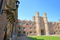 St John`s College University, the Second Court royalty free stock image