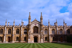 Cambridge universitet som builing, UK Royaltyfria Foton