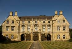 cambridge universitetar Arkivbild