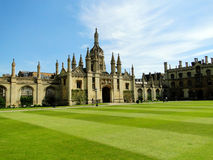 cambridge universitetar Royaltyfria Bilder