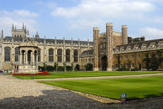 cambridge universitetar Royaltyfri Foto