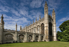 cambridge university Obrazy Royalty Free