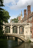 Cambridge University, Bridge of Sighs Royalty Free Stock Photos