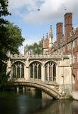 Cambridge University, Bridge of Sighs Royalty Free Stock Photos