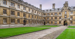 Cambridge University Buildings Stock Image