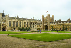 Cambridge University Campus Stock Photo