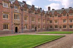 Cambridge university college Stock Images