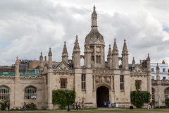 Cambridge University England Stock Photo