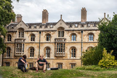 Cambridge University England Royalty Free Stock Photography