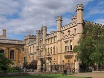 Cambridge University Royalty Free Stock Photos