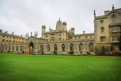 Cambridge University Kings College Royalty Free Stock Image