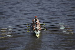 Cambridge university rowing club at Primatorky Royalty Free Stock Photos