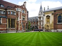Cambridge university Stock Image
