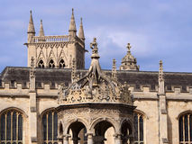 Cambridge University, Trinity College Stock Photos