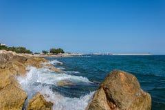 Cambrils Coast Royalty Free Stock Photography