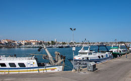 Cambrils Harbour Stock Images