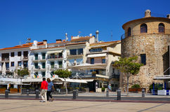 Cambrils miasto, Hiszpania Zdjęcia Royalty Free