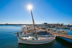 Cambrils portu marina w Tarragona Catalonia zdjęcia royalty free