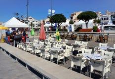 Cambrils stad, Spanien Royaltyfri Bild