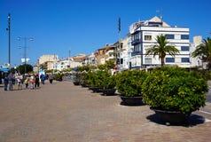 Cambrils stad, Spanien Arkivfoton
