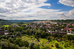 Camburg in Thuringia Stock Photo