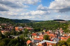 Camburg in Thuringia Stock Images