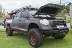 Camburg Toyota Τακόμα στην επίδειξη στοκ φωτογραφία
