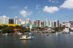 Camburi Channel Vitoria Espirito Santo Royalty Free Stock Photography