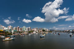 Camburi Channel Vitoria Espirito Santo Royalty Free Stock Image