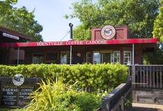 Cambuse de café de Yountville images stock