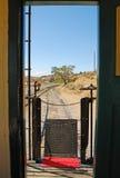Cambuse de chemin de fer images stock