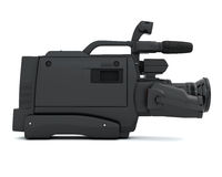 Camcoder side view Stock Images