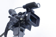 Camcorder. On a white background Stock Photography