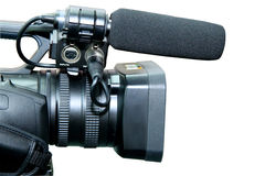 Camcorder. Royalty Free Stock Image