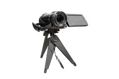 Camcorder. Royalty Free Stock Photo