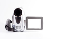 Camcorder. A camcorder with a blank screen royalty free stock photos