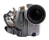 Camcorder. Digital camcorder royalty free stock photo