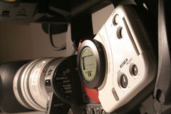 Camcorder. Modern camcorder which records images onto tape royalty free stock images