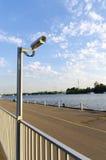 Camcorder in de haven Royalty-vrije Stock Afbeelding